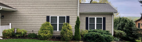 Landscaping Claytor Lake front yard – BEFORE